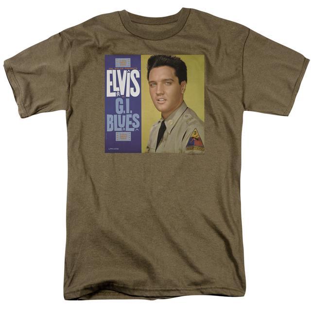 Elvis Presley Shirt | G I BLUES ALBUM T Shirt