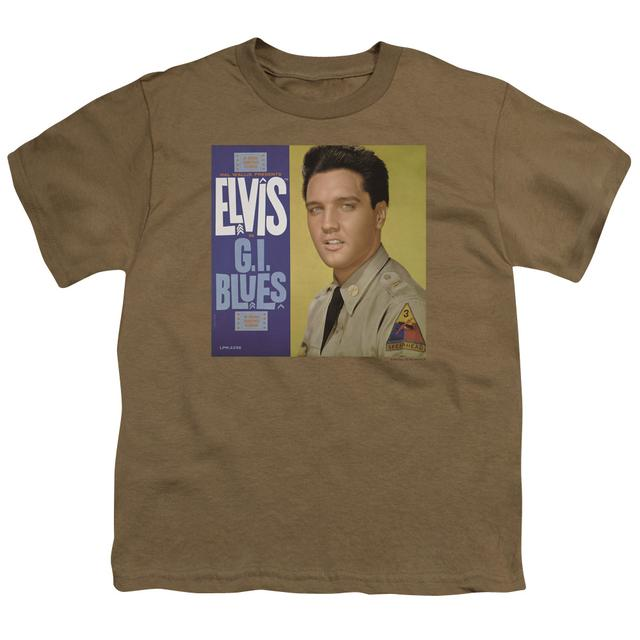 Elvis Presley Youth Tee | G I BLUES ALBUM Youth T Shirt
