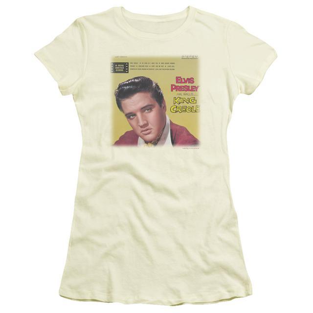 Elvis Presley Juniors Shirt   KING CREOLE SOUNDTRACK Juniors T Shirt