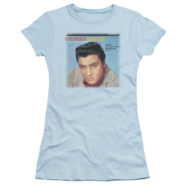 Elvis Presley Juniors Shirt | LOVING YOU SOUNDTRACK Juniors T Shirt