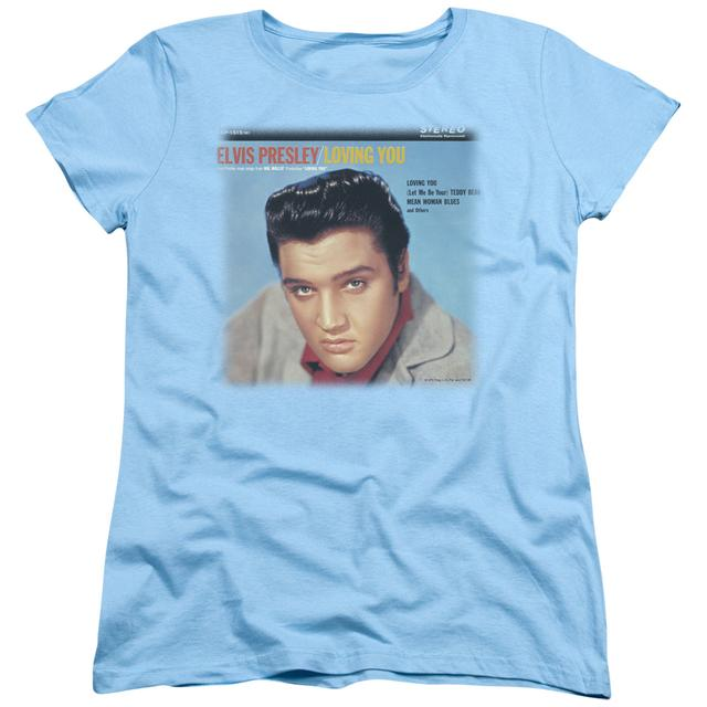 Elvis Presley Women's Shirt | LOVING YOU SOUNDTRACK Ladies Tee