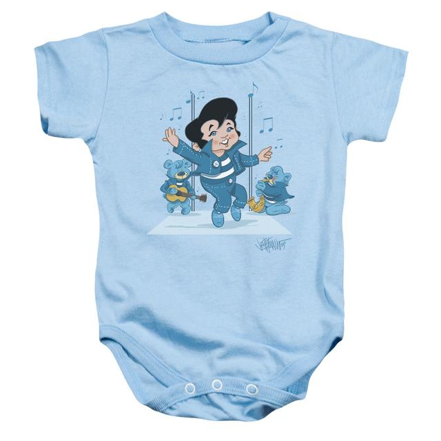 Elvis Presley Baby Onesie | JAILHOUSE ROCKER Infant Snapsuit