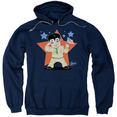 Elvis Presley Hoodie | LIL G I Pull-Over Sweatshirt