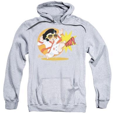 Elvis Presley Hoodie | KARATE KING Pull-Over Sweatshirt