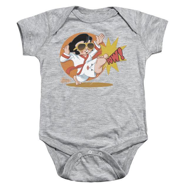 Elvis Presley Baby Onesie | KARATE KING Infant Snapsuit