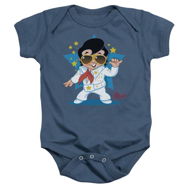 Elvis Presley Baby Onesie   JUMPSUIT Infant Snapsuit