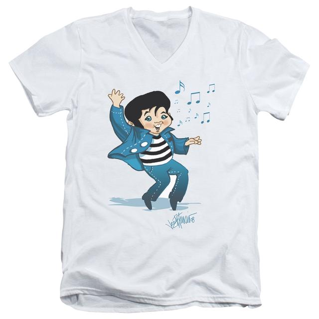Elvis Presley T Shirt (Slim Fit) | LIL JAILBIRD Slim-fit Tee