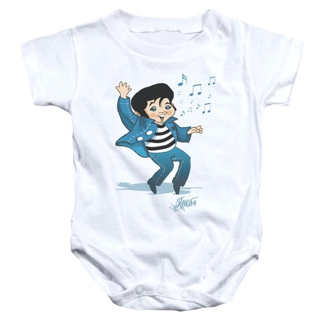 Elvis Presley Baby Onesie | LIL JAILBIRD Infant Snapsuit