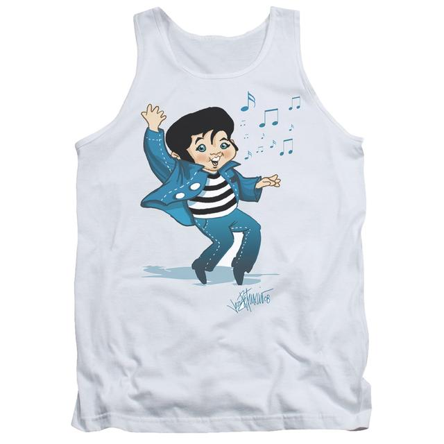 Elvis Presley Tank Top | LIL JAILBIRD Sleeveless Shirt