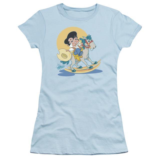 Elvis Presley Juniors Shirt   YIP E Juniors T Shirt