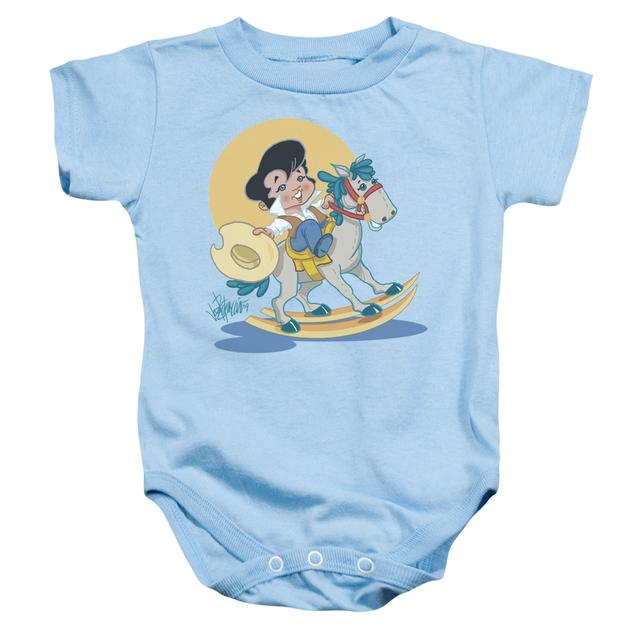 Elvis Presley Baby Onesie | YIP E Infant Snapsuit