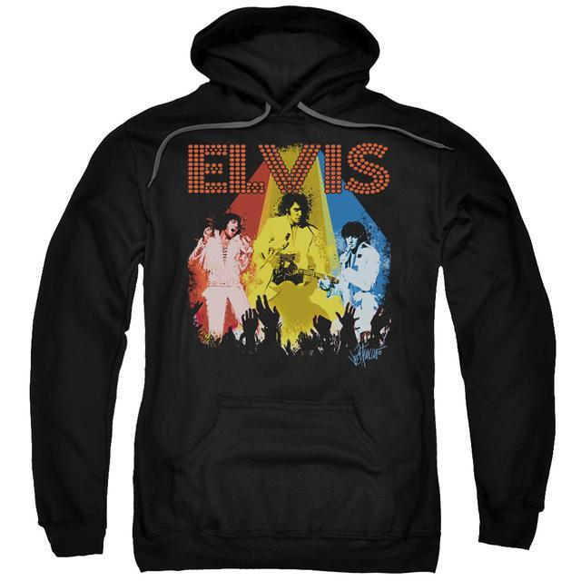 Elvis Presley Hoodie | VEGAS REMEMBERED Pull-Over Sweatshirt