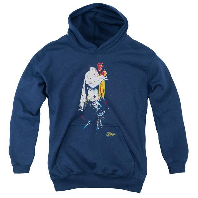 Elvis Presley Youth Hoodie   YELLOW SCARF Pull-Over Sweatshirt