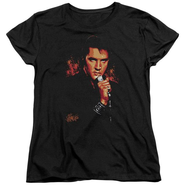 Elvis Presley Women's Shirt | TROUBLE Ladies Tee