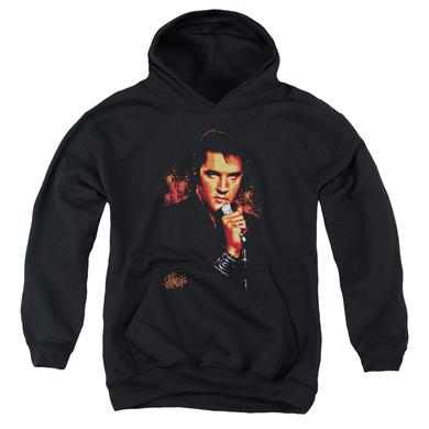 Elvis Presley Youth Hoodie | TROUBLE Pull-Over Sweatshirt
