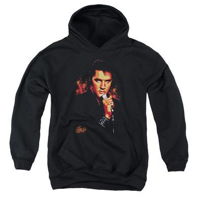 Elvis Presley Youth Hoodie | TROUBLE Pull-Over Sweatshirt