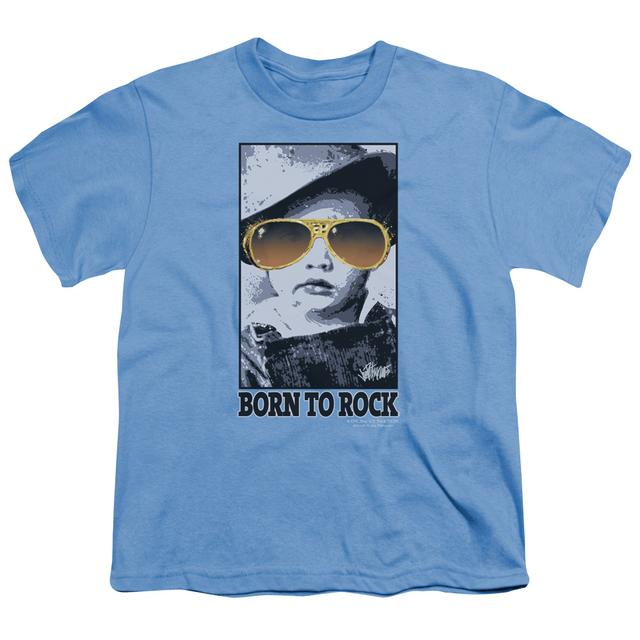 Elvis Presley Youth Tee | BORN TO ROCK Youth T Shirt