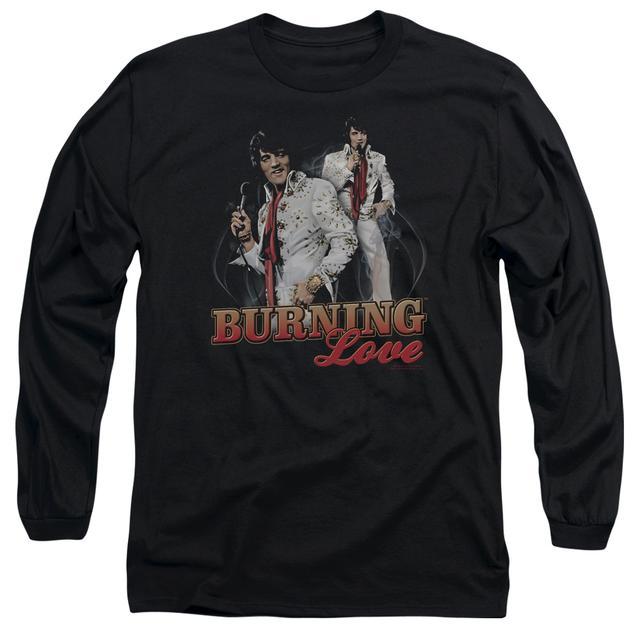 Elvis Presley T Shirt   BURNING LOVE Premium Tee