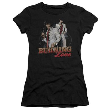 Elvis Presley Juniors Shirt | BURNING LOVE Juniors T Shirt