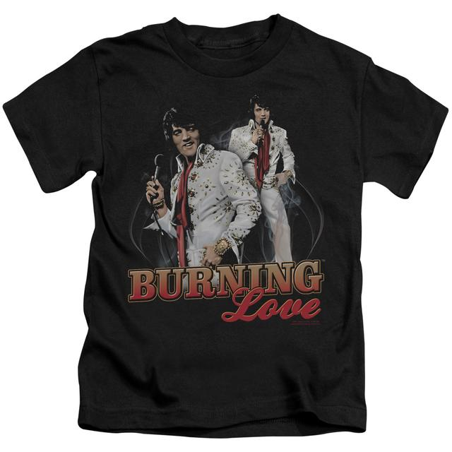 Elvis Presley Kids T Shirt | BURNING LOVE Kids Tee