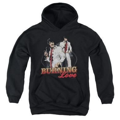 Elvis Presley Youth Hoodie | BURNING LOVE Pull-Over Sweatshirt