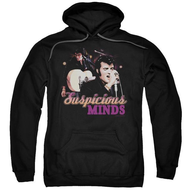 Elvis Presley Hoodie | SUSPICIOUS MINDS Pull-Over Sweatshirt