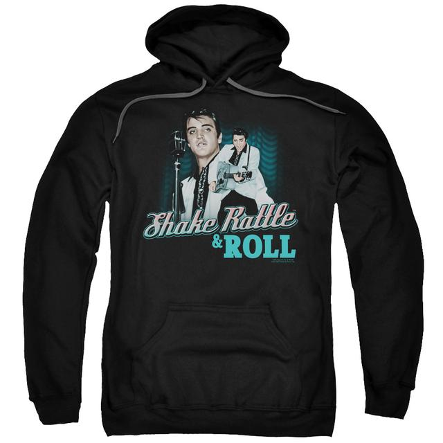 Elvis Presley Hoodie | SHAKE RATTLE & ROLL Pull-Over Sweatshirt