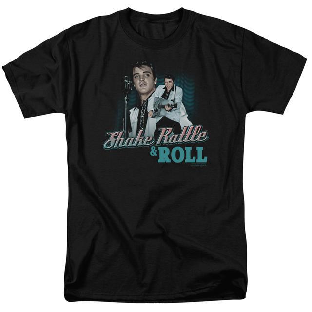 Elvis Presley Shirt   SHAKE RATTLE & ROLL T Shirt
