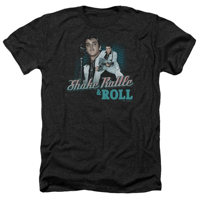 Elvis Presley Tee | SHAKE RATTLE & ROLL Premium T Shirt