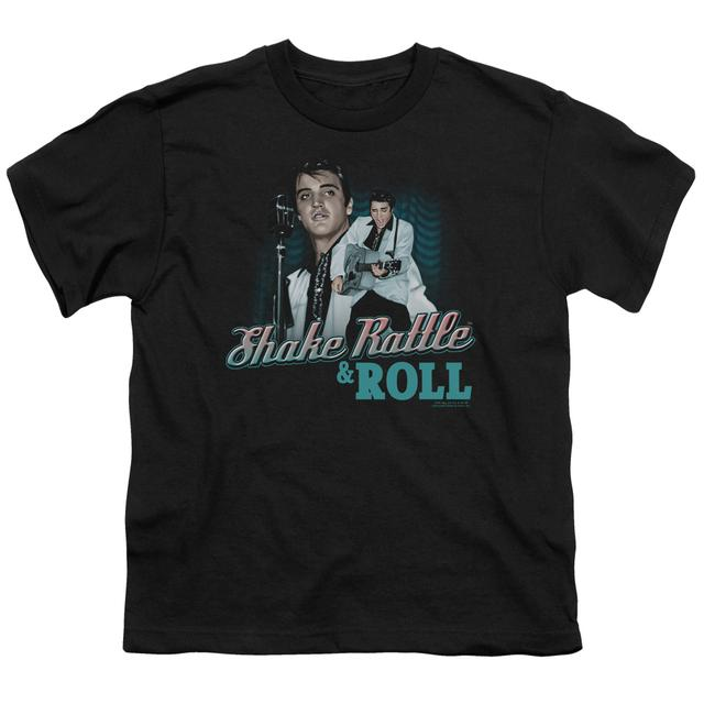 Elvis Presley Youth Tee | SHAKE RATTLE & ROLL Youth T Shirt
