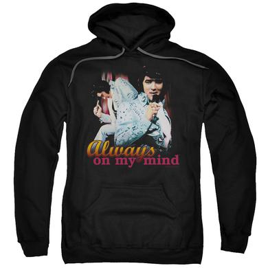 Elvis Presley Hoodie | ALWAYS ON MY MIND Pull-Over Sweatshirt