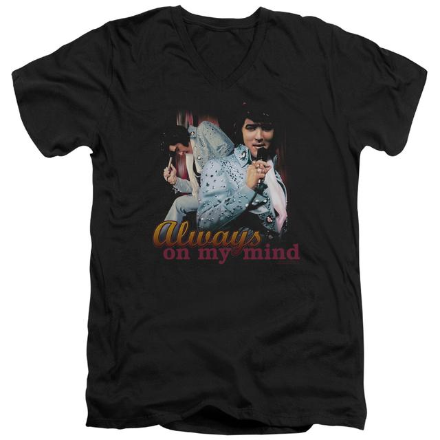 Elvis Presley T Shirt (Slim Fit) | ALWAYS ON MY MIND Slim-fit Tee
