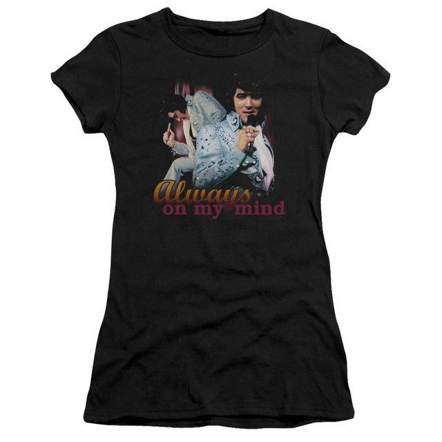 Elvis Presley Juniors Shirt | ALWAYS ON MY MIND Juniors T Shirt