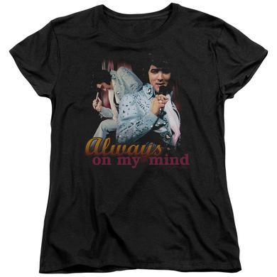 Elvis Presley Women's Shirt | ALWAYS ON MY MIND Ladies Tee