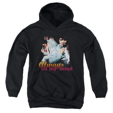 Elvis Presley Youth Hoodie | ALWAYS ON MY MIND Pull-Over Sweatshirt