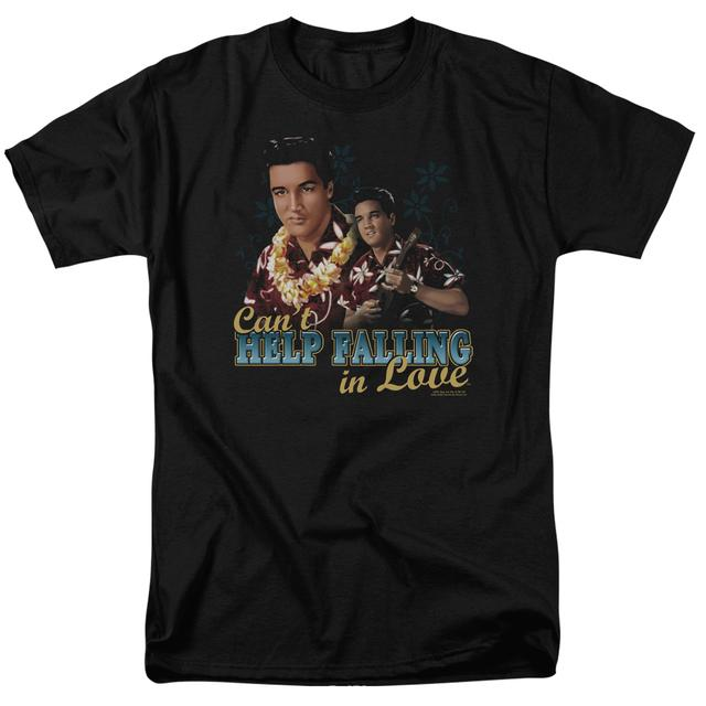 Elvis Presley Shirt | CAN'T HELP FALLING T Shirt