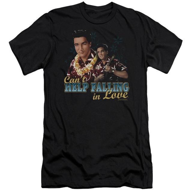 Elvis Presley Slim-Fit Shirt | CAN'T HELP FALLING Slim-Fit Tee