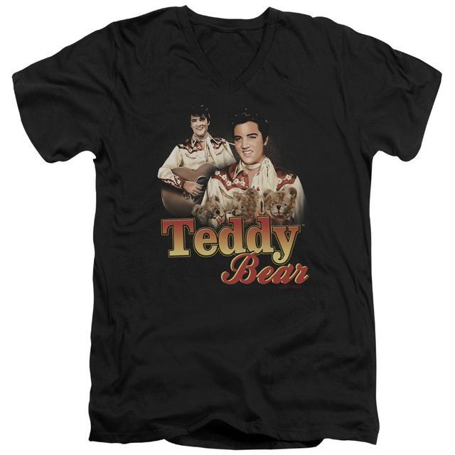 Elvis Presley T Shirt (Slim Fit) | TEDDY BEAR Slim-fit Tee