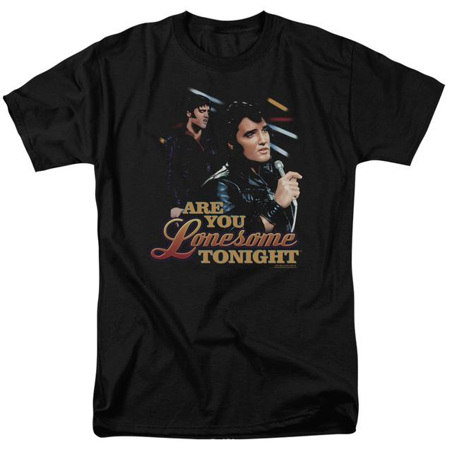 Elvis Presley Shirt | ARE YOU LONESOME T Shirt
