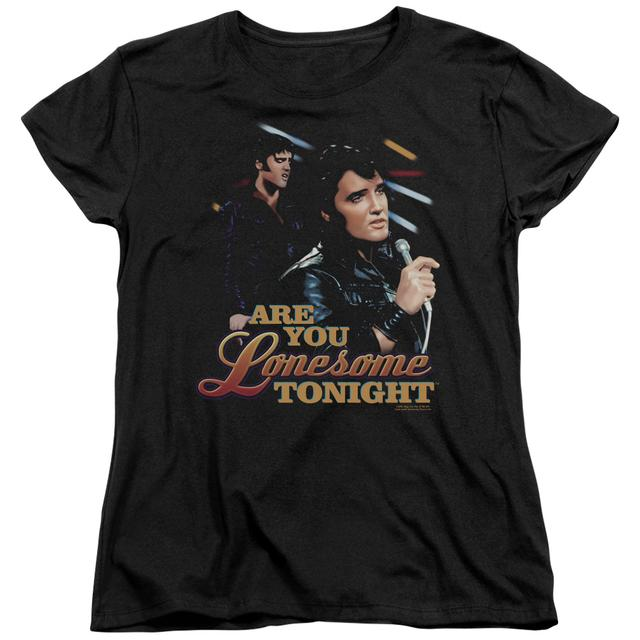Elvis Presley Women's Shirt | ARE YOU LONESOME Ladies Tee