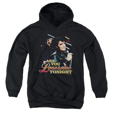 Elvis Presley Youth Hoodie | ARE YOU LONESOME Pull-Over Sweatshirt
