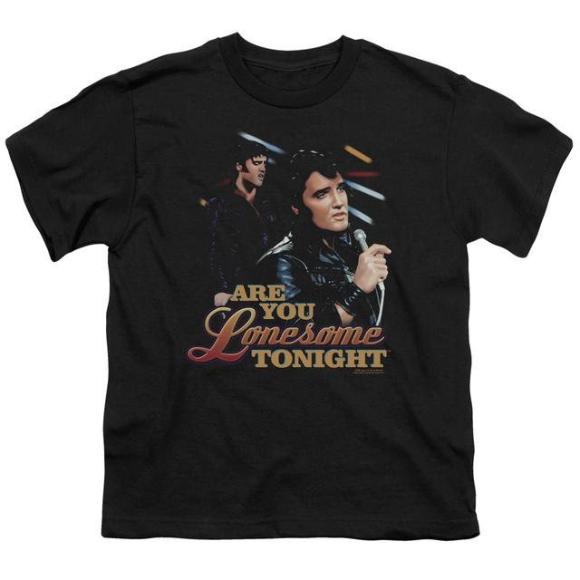 Elvis Presley Youth Tee | ARE YOU LONESOME Youth T Shirt