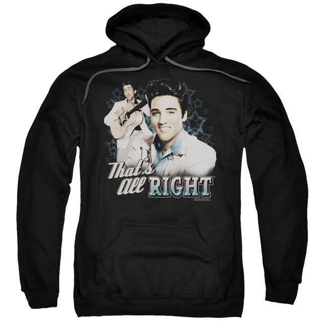 Elvis Presley Hoodie | THAT'S ALL RIGHT Pull-Over Sweatshirt