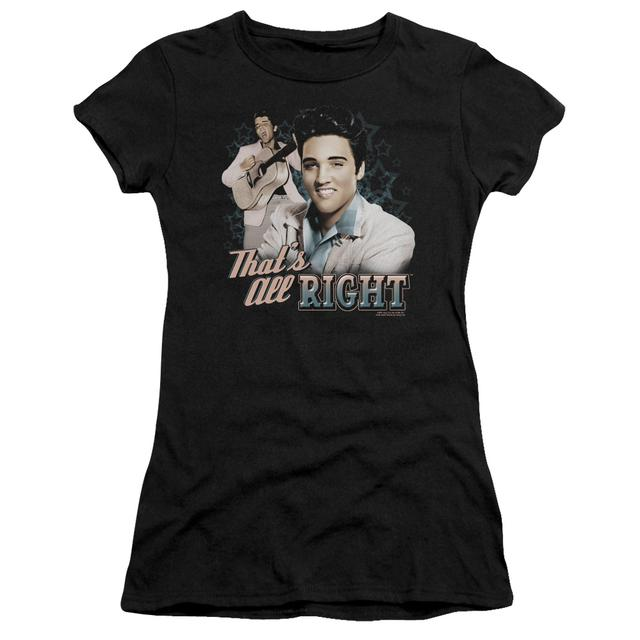 Elvis Presley Juniors Shirt | THAT'S ALL RIGHT Juniors T Shirt