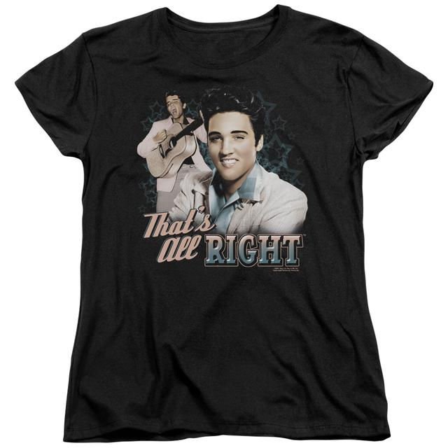 Elvis Presley Women's Shirt | THAT'S ALL RIGHT Ladies Tee