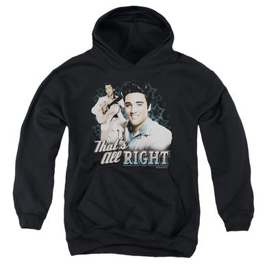 Elvis Presley Youth Hoodie | THAT'S ALL RIGHT Pull-Over Sweatshirt