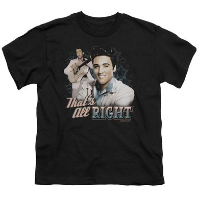 Elvis Presley Youth Tee | THAT'S ALL RIGHT Youth T Shirt