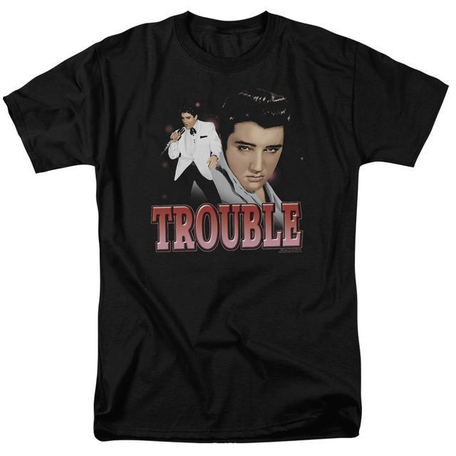 Elvis Presley Shirt | TROUBLE T Shirt