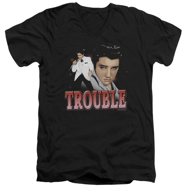 Elvis Presley T Shirt (Slim Fit) | TROUBLE Slim-fit Tee