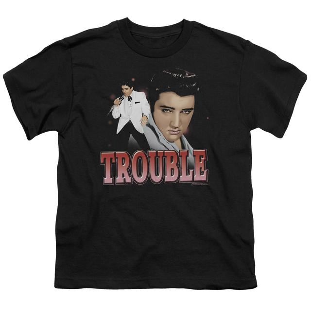 Elvis Presley Youth Tee | TROUBLE Youth T Shirt